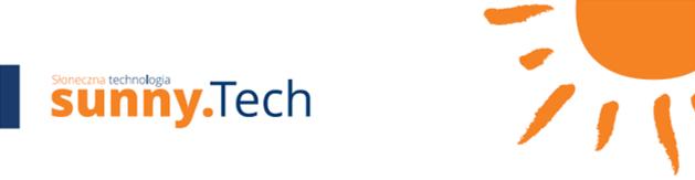 Pole tekstowe:   Zapraszamy na stronę partnera: www.sunnytech.com.pl Kontakt: Sunny.Tech Sp. z o.o. Sp. Komandytowa Ul. Grzybowska 80/82 00-844 Warszawa e-mail: biuro@sunnytech.com.pl telefon: +48 502 056 173